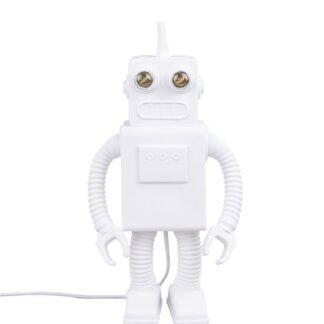 Seletti Robot Bordlampe Hvid