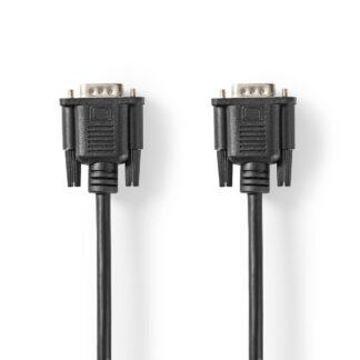VGA (han) kabel - Høj opløsning - 2m - Sort