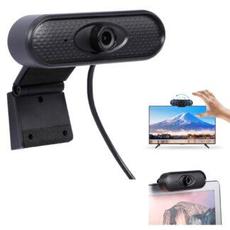 Web kamera HD 1080P - Med USB kabel - til PC/Laptop/NoteBook
