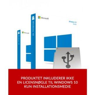 Windows 10 USB installationsmedie