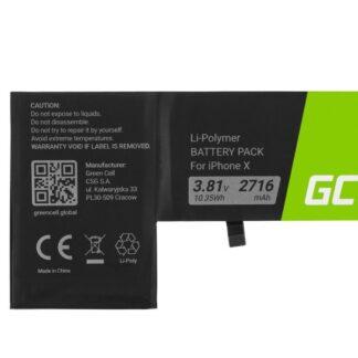iPhone X batteri - 2700 mAh / 3.8V kompatibelt kvalitets batteri