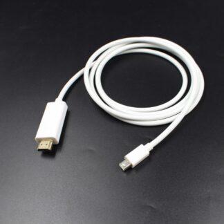 mini Displayport (han) til HDMI (han) adapter - 1.8m