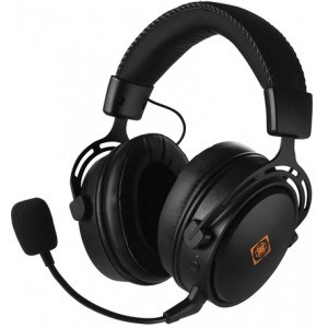 Deltaco-g Dh410 Wireless Gaming Headset, Black - Høretelefon