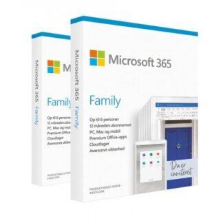 Microsoft 365 Family - 30 enheder / 1 år
