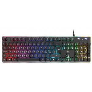 RGB Gaming keyboard, 105 keys, membrane switches - Diverse