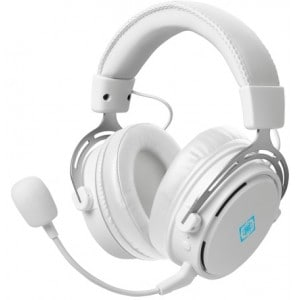 Deltaco-g Whiteline Wh90 Wireless Gaming Headset, White - Høretelefon