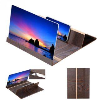 iPhone / Smartphone - Skærm forstørrer - Til Film/serier - Mørk brun