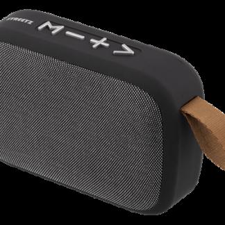 Bluetooth V5.0 Trådløs TWS højttaler - FM radio | Indbygget kontrolpanel - Sort