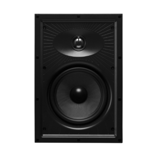 """HiVi VQ6-W Indbygningshøjttaler firkantet 6.5"""" sæt med 2stk"""