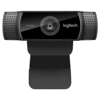 Logitech C922 Pro Stream HD Webcam, sort