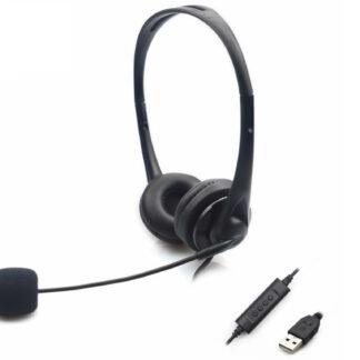 Sandberg Saver USB headset, Black