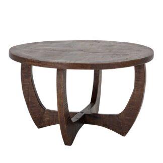 CREATIVE COLLECTION Jassy sofabord - brun mangotræ (Ø75)