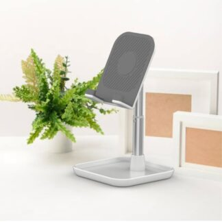 Design Aluminium Justerbar Desktop Holder til iPhone / Smartphone / iPad