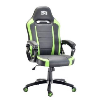 Don One, Belmonte Gaming Chair Sort/Grøn