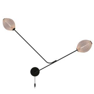 GUBI Satellite Væglampe Creme Hvid Semi Mat