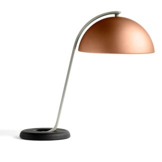 HAY Cloche Bordlampe Mocca/ Sort