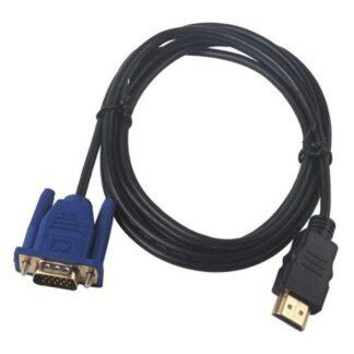 HDMI til VGA 15 pin (analog) passiv forbindelses kabel - 1.8m kabel