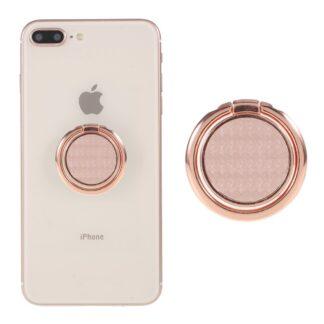 LGD Fiberglas Design - Finger grip holder til iphone / Smartphones - Rosa guld
