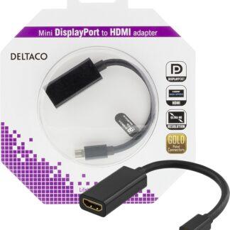 Mini DisplayPort til HDMI-adapter med lyd - 4K - 0.2m - Livstidsgaranti