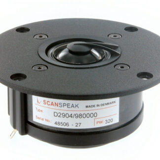 "Scan-Speak Classic 1"" soft dome D2904/980000 (sæt med 2stk)"