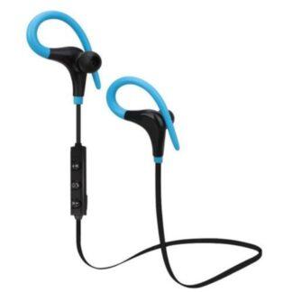 Sports EARHOOK Bluetooth Høretelefoner m/mikrofon - Blå