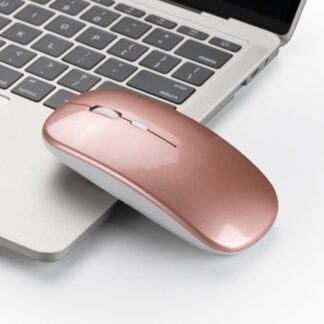 Trådløs mus - 2.4Ghz - 3-Speed funktion Max 1600 DPI - Rosa guld