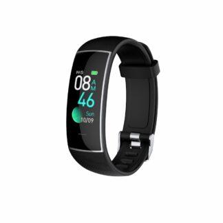 Aktivitetsur KH20 - Vandtæt - Bluetooth V5.0 - Puls - 8x Sportsmode - Fitness Tracker - iOS / Android - Sort