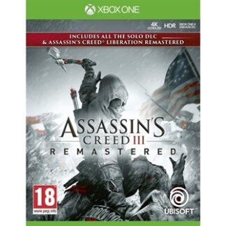 Assassin's Creed III (3) + Liberation HD Remaster (FR) - XBOX ONE