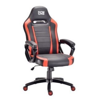 Don One, Belmonte Gaming Chair Sort/Rød