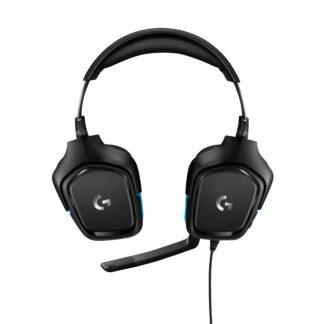G432 Gaming Headset Leatherette, Black