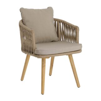 LAFORMA Hemilce chair in beige cord