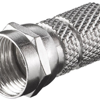 F-connector - F-Hun - 7,3 mm - Twist-On