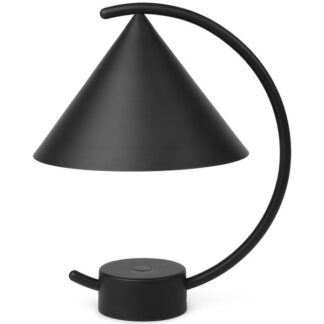 Ferm Living Meridian Transportabel Bordlampe Sort
