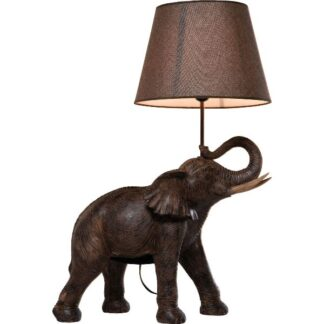 KARE DESIGN Elefant bordlampe - sort polyserin