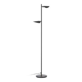 LAFORMA Veleira gulvlampe - sort plast, stål og aluminium