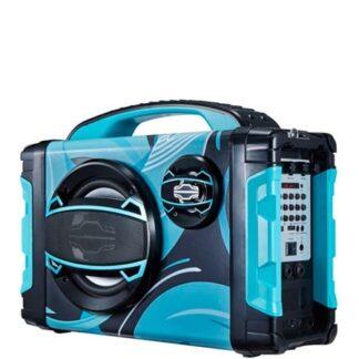 Brigmton Bærbare Bluetooth-højttalere BBOX-2 - Blå