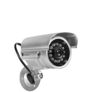 Smartware Falsk Overvågningskamera Sølv