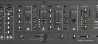 6-kanals DJ stereomixer - MPX-44/SW