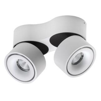 Antidark Easy W2100 Væglampe LED Hvid M.hul