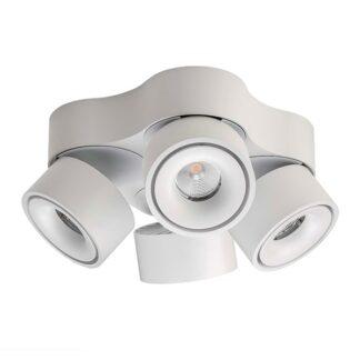 Antidark Easy W4100 Væglampe LED Hvid M.hul