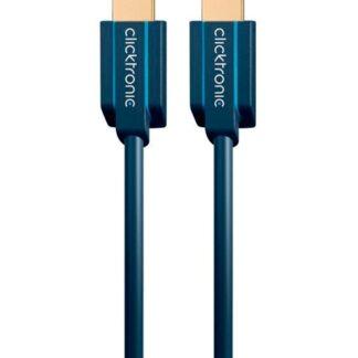 Clicktronic Ultra Højhastigheds HDMI-Kabel Med Ethernet - 1 meter