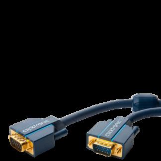 Clicktronic VGA tilslutningskabel - 2 m
