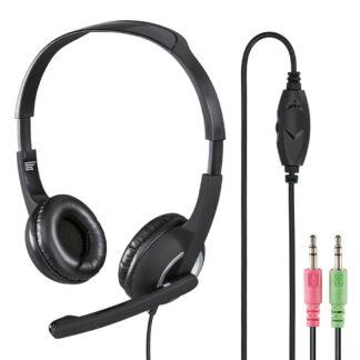 HAMA Headset PC Office - Med kabel 3.5mm - Sort