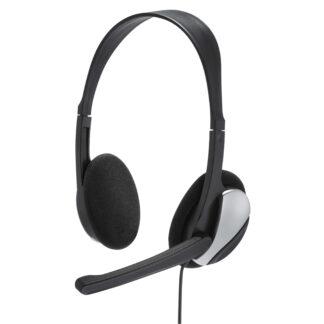 HAMA Headset PC Office med kabel 3.5mm - kabel længde 2 m
