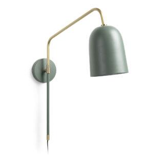 LAFORMA Bjerne væglampe - grøn metal