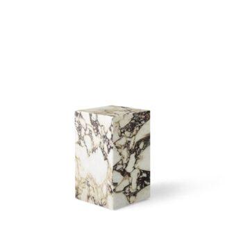 MENU Plinth Sofabord Høj Calacatta Viola Marmor