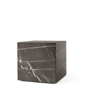 MENU Plinth Sofabord Kubik Grå Kendzo Marmor
