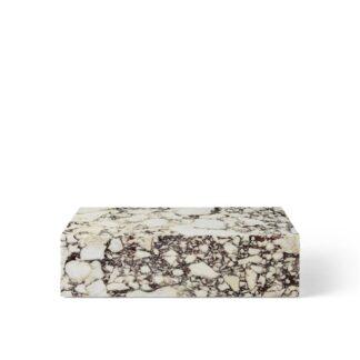 MENU Plinth Sofabord Lav Calacatta Viola Marmor