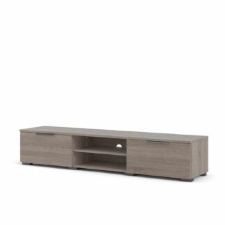 Match TV-bord, m. 1 hylde og 2 skuffer - trøffel folie (172,7x39,9)