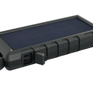 Outdoor Solar Powerbank 24000, Black